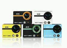 20MP 4K 170 ° Wifi Cámara Deportiva Impermeable + vendedor del Reino Unido 5 Colores Go Pro Alt