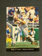 Peyton Manning Rookie Tennessee Volunteers 1998 Press Pass #50 Gold Foil