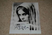CATHERINE DENEUVE signed  Autogramm 20x25 cm In Person