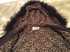 Lined Parka - - Winter in Casual Winter Sz16 Animal Print Design By Cover