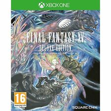 Final Fantasy XV Deluxe Edition Xbox One Game Steelbook & Soundtrack VGC