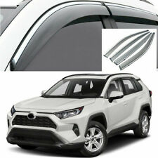 For Toyota Rav4 2019-2021 Side Window Visors Sun Rain Guard Vent Deflectors 4Pcs