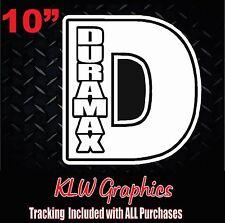 Duramax  * Vinyl decal Sticker Stacks Diesel Truck 2500 3500 Crew Cab