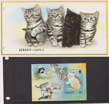 JERSEY PRESENTATION PACK 2002 CATS II STAMP MINIATURE SHEET 10% OFF 5+