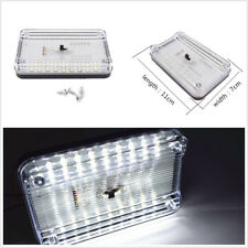 New ABS Plastic 12V 36LED White Car Autos Dome Roof Ceiling Interior Light Lamp