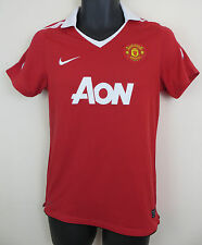 Nike 2010-11 Manchester United Football Shirt EPL Soccer Jersey Camiseta Small S