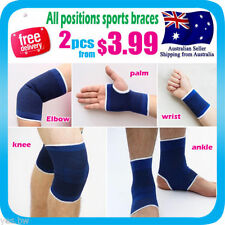 Blue Ankle Support Braces/Orthosis Sleeves