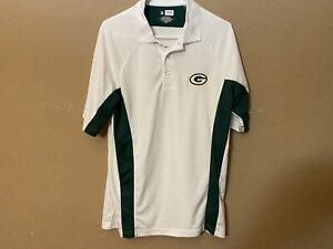 GREEN BAY PACKERS NFL Team Apparel Golf Polo Shirt Size M Medium NFL