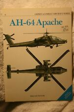 AH-64 Apache Helicopter Osprey Combat Aircraft #6 Very good condition Gunston