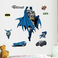 Removable Batman Wall Art Sticker Vinyl Decal Home Decor Mural Boys PVC Bedroom