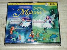 4 CD Mondschein Maluna - Feenabenteuer+Geschichten im Zauberwald **NEU**