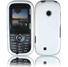 For LG Cosmos Touch VN270 Rubberized Protector Hard Case Cover Rubber White
