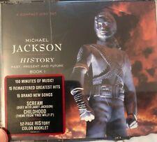 MICHAEL JACKSON: HISTORY PAST, PRESENT & FUTURE 2 CD's Brazilian Edition Rare