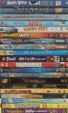 30+ DVDs Of Family / Kids Movies & TV Shows