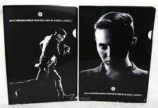G-Dragon 2013 World Tour One of A Kind in Seoul Taiwan two Folders (ClearFile)