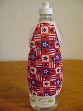 Patriotic Stars Design Dish Soap Bottle Apron
