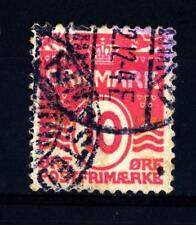 DENMARK - DANIMARCA - 1912 - Linee ondulate, con 18 cuori