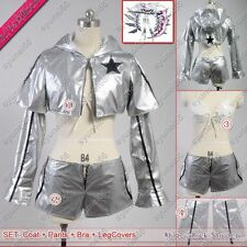Black Rock Shooter BRS WRS White Premium Box White Rock  Shooter Cosplay Costume