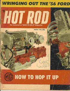 Hot Rod 1956 Mar mg ford wiring studebaker rodding drag