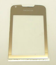 Original Nokia 8800 Arte Gold Aussenglas LCD Display Front Cover Glas Außenglas