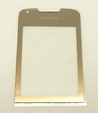 ORIGINALE Nokia 8800 ARTE GOLD aussenglas LCD display front cover vetro vetro esterno