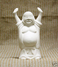 Ceramic Bisque Hoi Toi Standing Buddha Lakeland Mold 389 U-Paint Ready To Paint