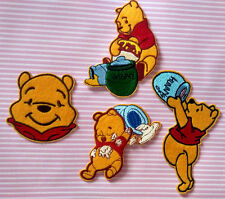 Winnie The Pooh And Honeypot Embroidered Cloth Iron On Patch