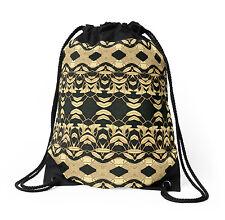 DRAWSTRING BACKPACK SHOULDER BAG w/Exclusive Solar Etched Design ~ 'Lilies #2'
