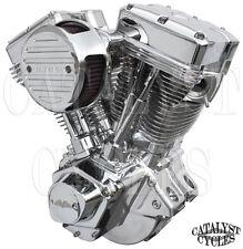 """Polished 107"""" Ultima Engine El Bruto Evolution Motor for Harley Evo Engine 84-99"""