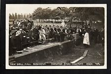 Bebington - New Drill Hall, Foundation Stone Ceremony 1912 - RP p/card