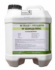 Seaweed Tonic 10L No Frills Organic Garden Fertiliser Conditioner NoFrills Kelp