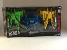 Transformers: War For Cybertron Trilogy - Siege, Rainmaker Seekers 3-Pack HTF