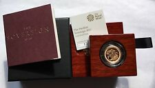 2017 Royal Mint 200th Anniversary Gold Proof PIEDFORT Sovereign Boxed SOLD OUT