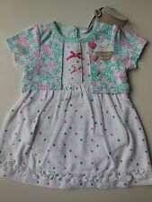 BABY INFANT GIRL DRESS ROMPER ONE PCE BODYSUIT SIZE 0000 NEWBORN *NEW *GIFT
