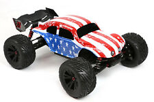 Custom Buggy Body American Flag for ARRMA 1/8 Kraton 6S Truck Car Cover Shell