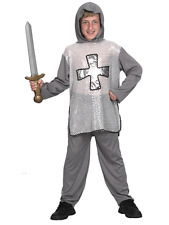 Child Medieval English Knight Outfit Fancy Dress Costume St George Kids Boys
