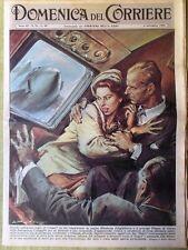 La Domenica del Corriere 6 Novembre 1960 Persia Loren Hollywood Kennedy Nixon