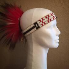 Glass Wampum Native American Headband woodland dancer pow wow regalia Eastern