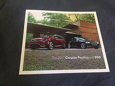 2017 Chrysler Pacifica and 300 Color Brochure Catalog Prospekt