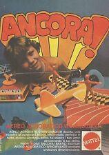 X2117 Aereo acrobatico Wingwalker - Mattel - Pubblicità 1979 - Advertising