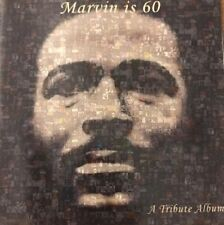 MARVIN IS 60 - A TRIBUTE ALBUM Various Artists CD (MOTOWN) MARVIN GAYE SOUL