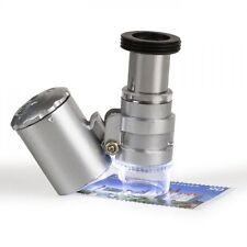 Taschenmikroskop MINISCOPE mit 20-facher Vergrößerung, LED und UV