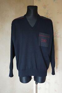 Men's true vintage Paul & Shark Italy jumper 2XL XXL wool blend casual pullover
