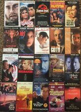 Drama/Adventure Movies VHS Your Choice $2.99 Each Pick Titles Flat Rate to Ship!