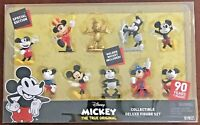 "Disney Mickey ""The True Original"" Collectible Deluxe Figure Set (10 Pieces)"