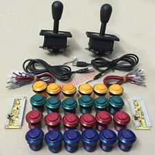 Arcade DIY parts for 2 players zero delay USB interface to joysticks and buttons