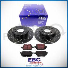 EBC Turbogroove Bremse Bremsscheiben Beläge hinten für Skoda RS VW Golf 7 GTI