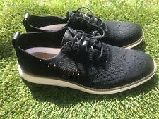 Men's Cole Haan Lunarglide Sticthlite Black Shoes Sz 10