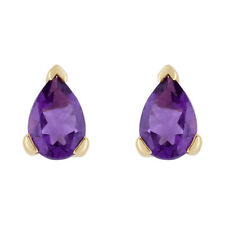 Amethyst Fine Earrings