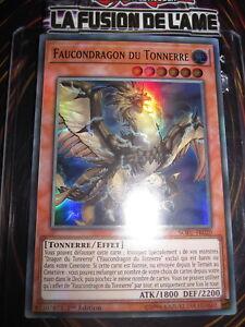 YU-GI-OH! ULTRA RARE FAUCONDRAGON DU TONNERRE SOFU-FR020 NEUF EDITION 1 FRANCAIS